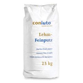 Conluto Lehm-Feinputz, trocken