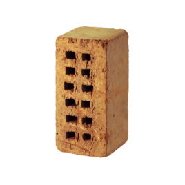 Lehmsteine 2 DF, gelocht, 24,0 x 11,5 x 11,3 cm
