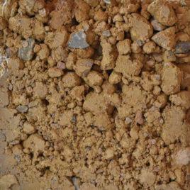 Stampflehm Körnung 0-22 sandstein-gelb