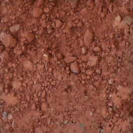 Stampflehm Körnung 0-22 sandstein-rot
