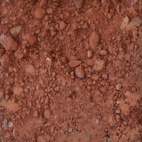 stampflehm-sandstein-rot